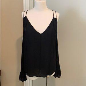 Jessica Simpson Black long sleeve shirt